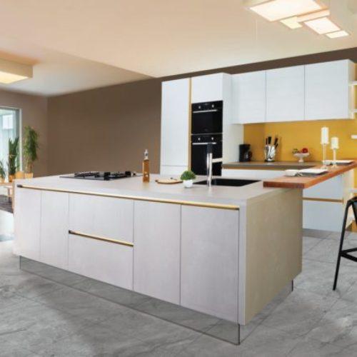 Microcemento en cocinas: ventajas y aplicaciones